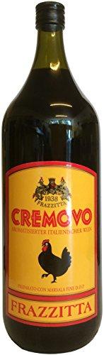 Marsala Cremovo FRAZZITTA 2 L - Vino Aromatizzato all´Uovo - Aromatisierter Wein mit Ei 14,8 % Vol. aus Italien