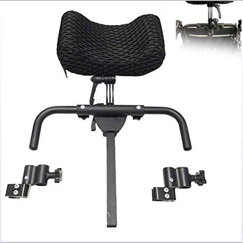 SXFYGYQ Rollstuhl Kopfstütze kann frei eingestellt Werden Nackenkissen Kissen Aluminiumlegierung