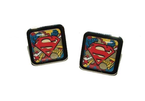 Superman Découpez BOUTONS DE MANCHETTES