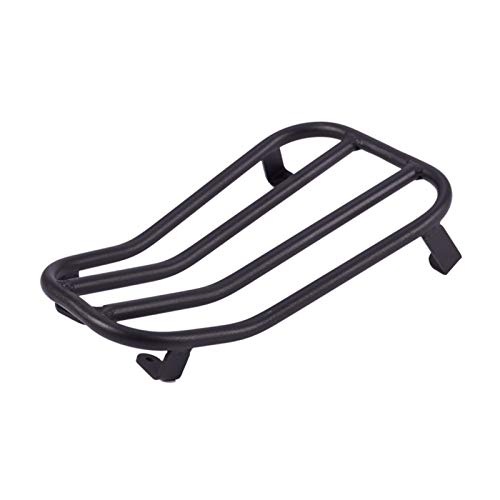 XINXI-YW Diverse Rear Luggage Rack Bracket Holder Compatible VESPA GTS300 GTS-300 GTS 300 2017 2018 2019 Motorcycle Accessories sturdy (Color : Black)