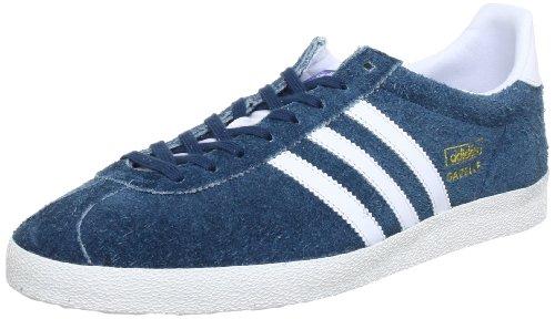 adidas Originals Gazelle OG Q23175, Herren Sneaker, Blau (DARK PETROL S05 / RUNNING WHITE FTW / METALLIC GOLD), EU 47 1/3 (UK 12) (US 12.5)