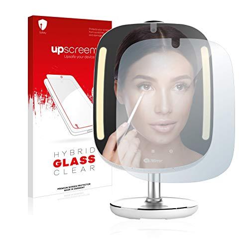 upscreen Protector Pantalla Cristal Templado Compatible con HiMirror Mini Premium Hybrid Glass - 9H Dureza