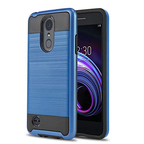 Phone Case for [LG Rebel 4 LTE (L212VL, L211BL)], [Protech Series][Blue] Shockproof Cover [Impact Resistant][Defender] for Rebel 4 LTE (Tracfone, Simple Mobile, Straight Talk, Total Wireless)