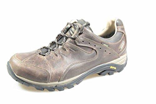 Meindl Caracas GTX Herren Leder Trekkingschuhe Dunkelbraun, Goretex Ausstattung, 4430137/7.5