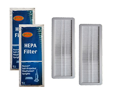 EnviroCare Replacement HEPA Filtration Vacuum Cleaner Filters made to fit Hoover Self-Propelled WindTunnel 2 filters