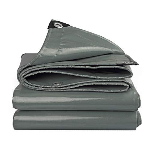 Toile d'ombrage JT- Tissu antipluie clothawning bâche de Protection extérieure Bâche de Protection Solaire Parasol en Plastique renforcé à la Pluie Durable (Size : 4m*4m)