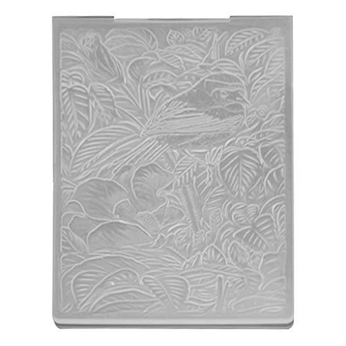 MISHITI 3D Vogels en Bladeren DIY Stansmessen Scrapbooking Embossing Map voor Album