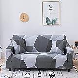 WXQY Funda de sofá elástica Estampada Funda de sofá con...
