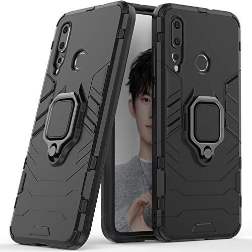 Capa para Huawei Nova 4, capa com suporte para Huawei Nova 4, capa antiderrapante para Huawei Nova 4, capa com alça de dedo com suporte de anel giratório de 360 graus para Huawei Nova 4 de 6,4 polegadas