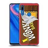 Head Case Designs Licenciado Oficialmente Willy Wonka and The Chocolate Factory Barra de Dulces Gráficos Carcasa de Gel de Silicona Compatible con Huawei P Smart Z / Y9 Prime