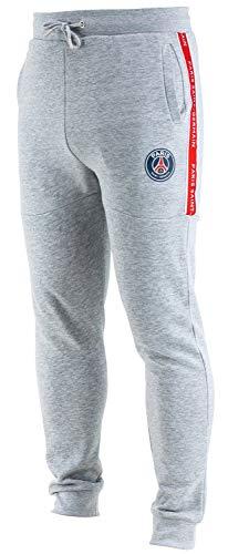 Paris Saint Germain Herren-Trainingshose PSG, offizielle Kollektion, Erwachsenengröße L grau