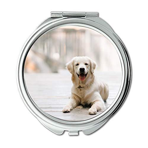 Yanteng Taschenspiegel, Taschenspiegel Rund Taschenspiegel, Doppelseitig, Oregon Taschenspiegel für Herren/Damen MT 075