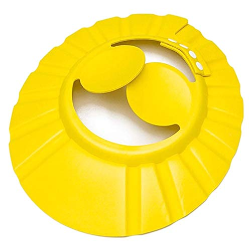 Verde Healifty Champ/ú para beb/é Gorro de ducha Visera Escudo Seguro Ba/ño ajustable O/ído Proteger EVA Sombrero suave para ni/ño gorro de ducha infantil gorro de ducha de beb/é