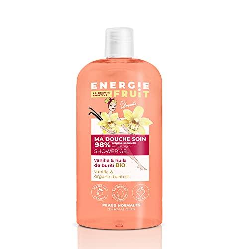 ENERGIE FRUIT   Gel Douche pH Neutre   Vanille & Huile de Buriti BIO   Vegan   500ml