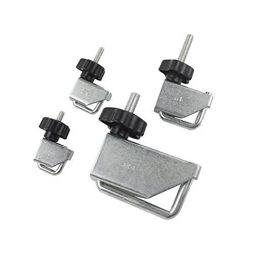 VCT 4 Pc Fluid Line Clamp Set Pinch Off Clamp Hose Clamp Vacuum Radiator Fuel Line
