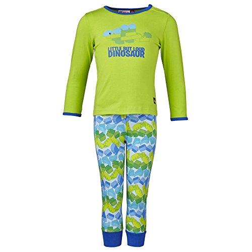 Lego Wear Jungen Lego duplo Aske 902-Schlafanzug/Pyjama Zweiteiliger Schlafanzug, Grün (Lime 848), (Herstellergröße: 74)