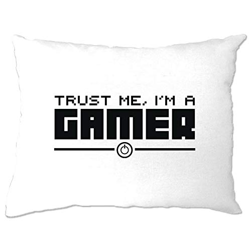 prz0vprz0v Gaming Kussen Case Trust Me, Ik ben een Gamer Slogan Video Games PC Console Play 12