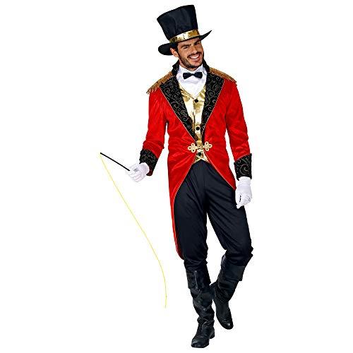 WIDMANN 09552 Circus Director Men's Costume Black/Red M