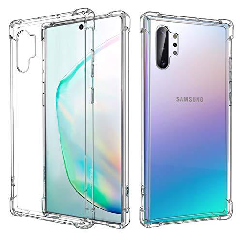 MoKo Compatible con Galaxy Note 10 Plus/Galaxy Note 10+ 5G Funda, Cubierta Protector con Transparente Dura Carcasa TPU para Samsung Galaxy Note 10 Plus / 10+ 5G 6.8 Inch 2019-CristalClaro