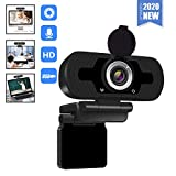 [2020 New Version]1080P HD Webcam with Microphone...