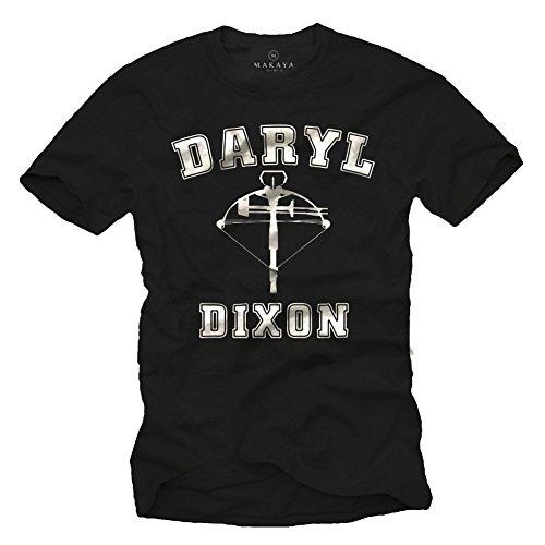 Walking Dead T-Shirt für Herren Daryl Dixon Größe XXL