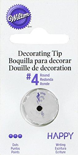 Wilton No.4 Decorating Tip, Round