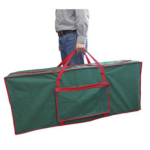 Christmas Tree Fabric Storage Bag (125 x 30 x 50 cm) Green