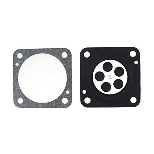 AISEN Vergaser Reparatursatz Dichtung Membrane passend Wacker WM80 Motor für Bing 33 Membransatz BS42 BS45 BS50 BS52 BS60Y BS62Y BS65Y