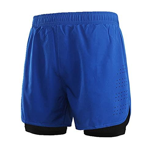 N\P Pantalones Cortos Deportivos para Hombres de Lixada Rápida Entrenamiento con Gimnasio Transpirable