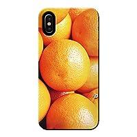 AQUOS sense4 plus SH-M16 ケース 果物 オレンジ フルーツ ポップ 薄型 スマホ ハードケース カラフル B アクオス C000401_02