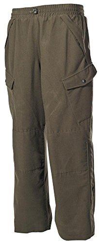 Pantalon Outdoor, Poly Tricot, plein air, materiel silencieux, Couleur:Oliv;Taille:XL