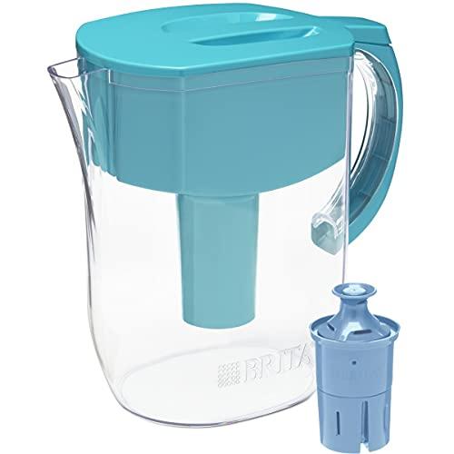 Brita Longlast Everyday Water Filter Pitcher,...