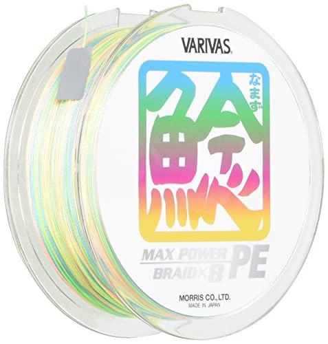 モーリス(MORRIS) PEライン バリバス ナマズ マックスパワー 80m 4号 64lb 8本 トロピカル