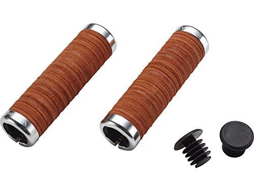 Voxom Unisex - volwassenen grepen Lock-on Gr13 bruin, 125mm, leer, 718000010