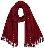 Tommy Hilfiger TH Wool Scarf Juego de accesorios de invierno, Mezcla Neutral, OS para Muje...