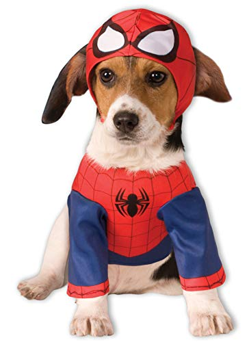 Rubie'S - Disfraz Oficial de Spider Man para Perro, Talla pequeña