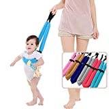 Baby Walker Harness Leash Safety Walking Belt Learning to Walk Assistant Soft Strap Double Ring Support Assistant Walker Strap Belt, Brown, Set of 2 (8 Months - 36 Months)
