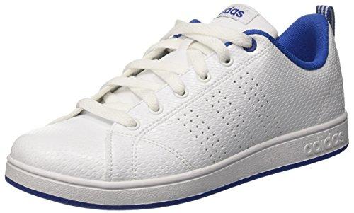 adidas Vs Advantage Cl K, Zapatillas de Deporte Unisex Niños, Blanco (Ftwr White/ftwr White/collegiate Royal), 36 EU