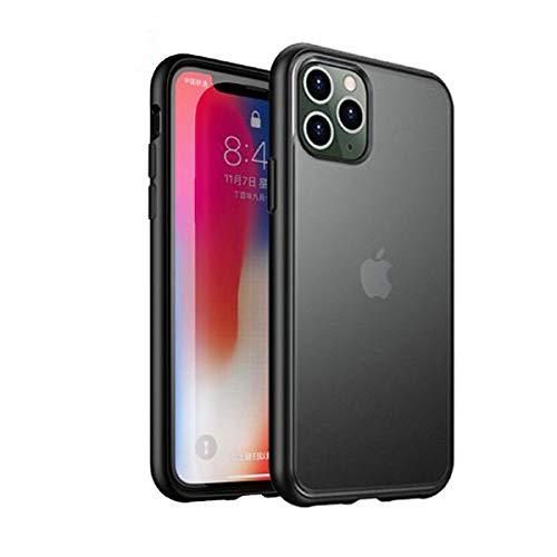 iPaky Schutzhülle für iPhone 11 Pro, stoßfest, langlebig, schützt die Kamera, kompatibel mit kabelloser Aufladung, elegant und angenehm zu berühren.