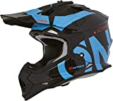 O'NEAL | 2SRS Helmet SLICK | black/blue | Größe M (57/58cm)