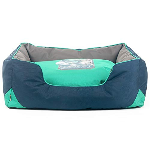 Pet Dog Sofa Bolster Lounger Bed - Can be Removed and Washed, Bite Resistant, Universal in All Seasons (Size : 48INCH/120X90X30CM)
