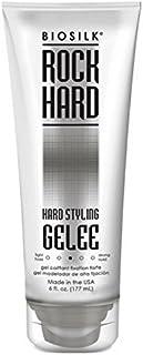 Biosilk Rock Hard Hair Styling Gelee 6 oz (Pack of 5)