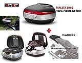 SHAD Kit BAUL Maleta Trasero SH50 litros + FIJACION + Respaldo Pasajero Regalo - Yamaha Tracer 700 2016-2018