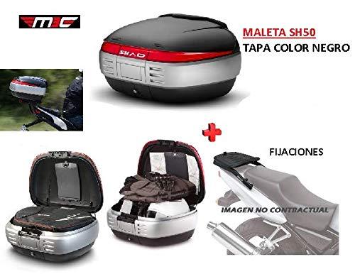 SHAD Kit BAUL Maleta Trasero SH50 litros + FIJACION +
