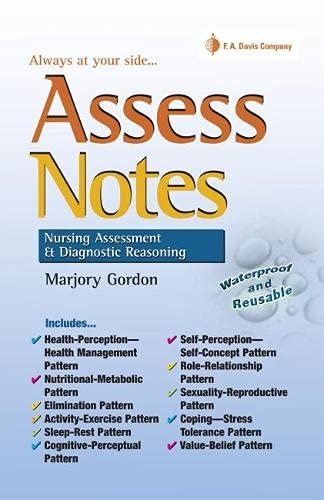 Assess Notes: Assessment and Diagnostic Reasoning (Davis's Notes)