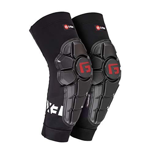 G-Form Pro-X3 Ellenbogenschoner für Jugendliche und Kinder, MTB, BMX, DH, Radfahren, Snowboarden, Skateboard, Fußball (Schwarz, S/M)