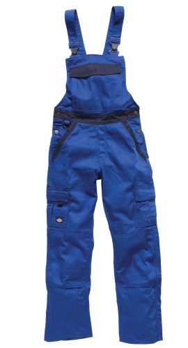 Dickies Arbeits-Latzhose INDUSTRY300 - 3-fach genäht - kornblau/marine - Größe: 64