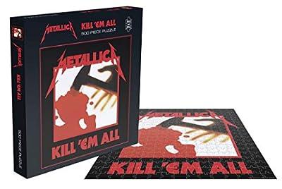 Metallica Kill 'Em All 500 Piece Jigsaw Puzzle from Plastic Head
