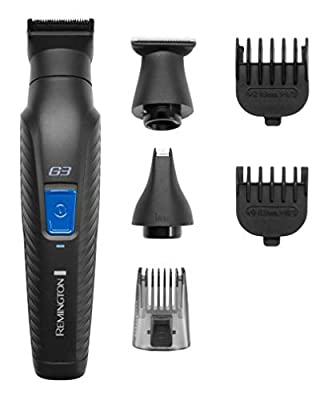 Remington Graphite G3, All-in-One Cordless Electric Trimmer, Body Groomer and Nose Hair Trimmer for Men, PG3000 by Spectrum Brands UK Ltd