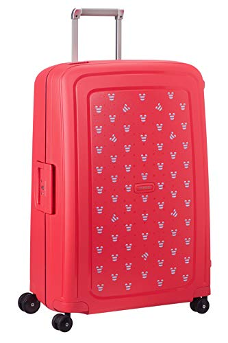 Samsonite S'Cure Disney Spinner Suitcase, 75 cm, 102 L, Rot (Mickey Summer Red)